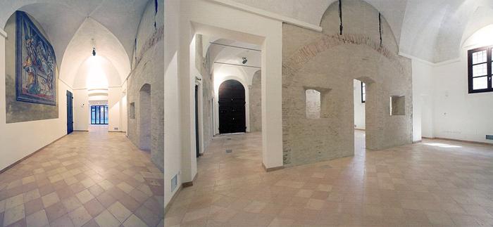 Palazzo del Monte di Pietà, Sale espositive