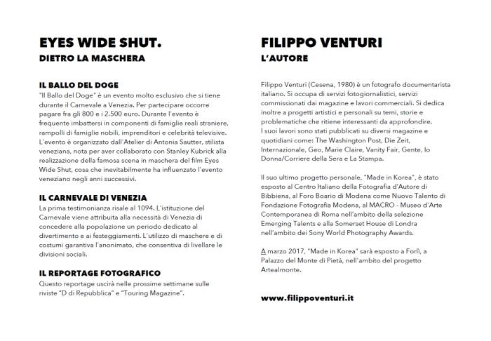 """Mostra fotografica """"Eyes Wide Shut"""" a Forlì"""
