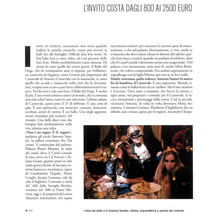 Eyes Wide Shut su D di Repubblica, #2