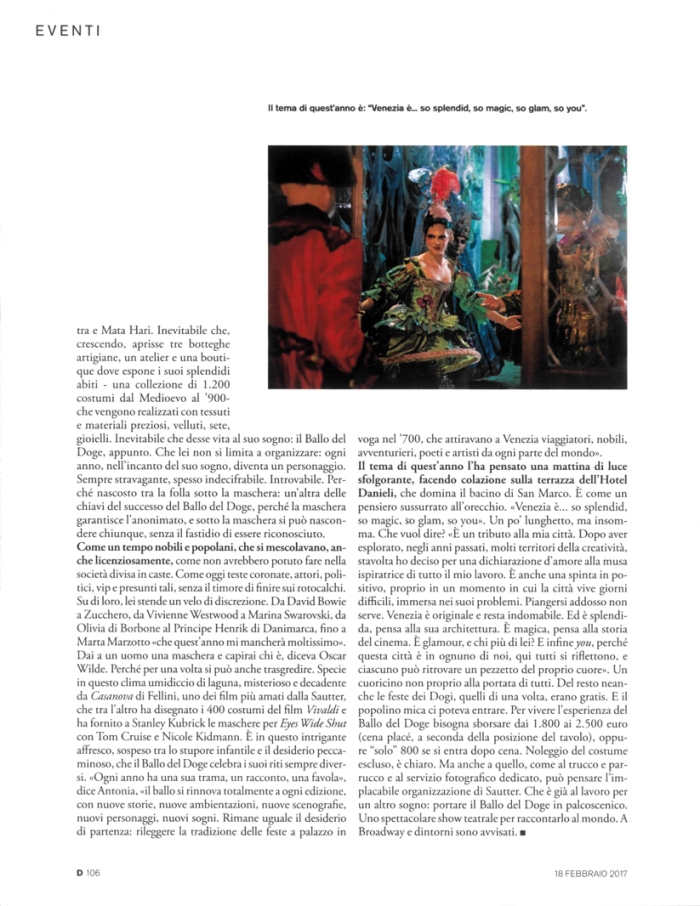Eyes Wide Shut su D di Repubblica, #3