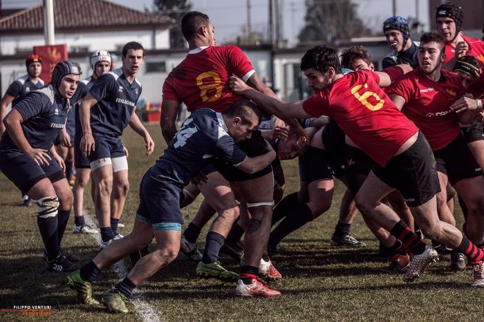 Romagna RFC - Amatori Parma Rugby - Photo 17