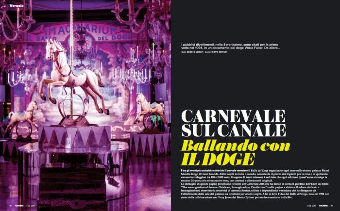 Eyes Wide Shut sul Touring Magazine, #1