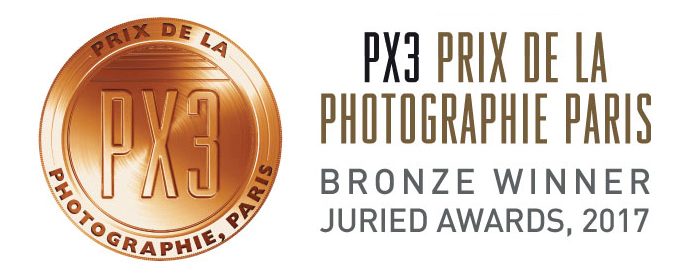 3rd Prize at Px3 Prix de la Photographie Paris