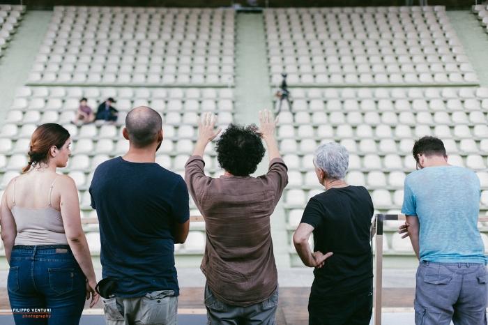 Miles Gloriosus, con Ivan Bacciocchi e Camillo Grassi (Backstage), foto 3