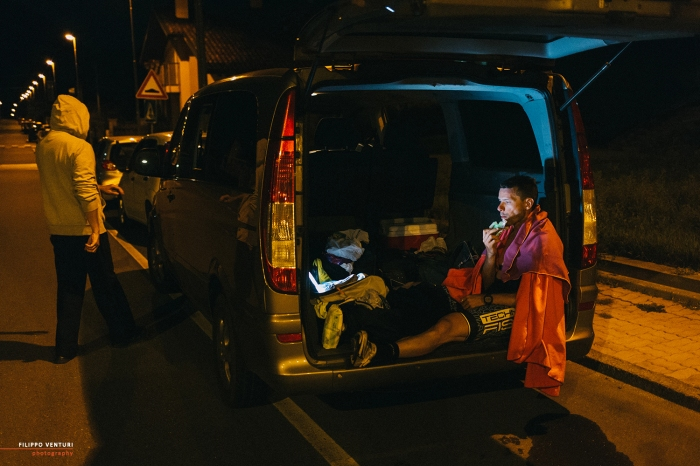 Sandro Valbonesi, da Savona, a Cervinia, alla vetta del Breithorn, foto 16