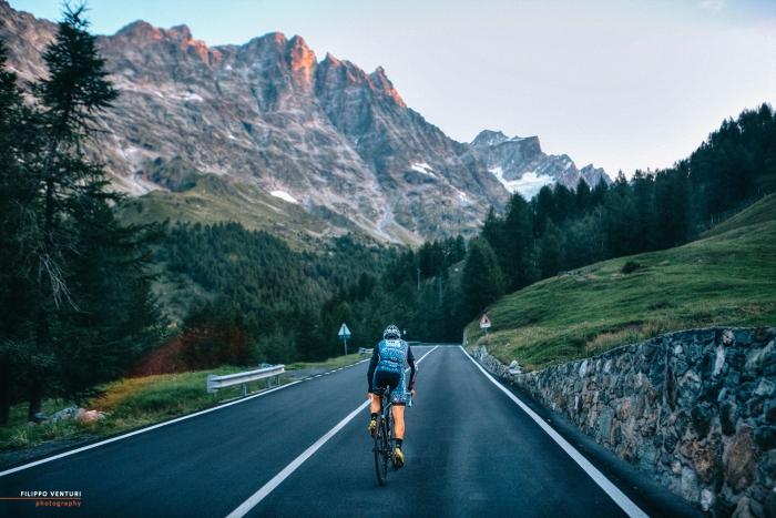 Sandro Valbonesi, da Savona, a Cervinia, alla vetta del Breithorn, foto 18