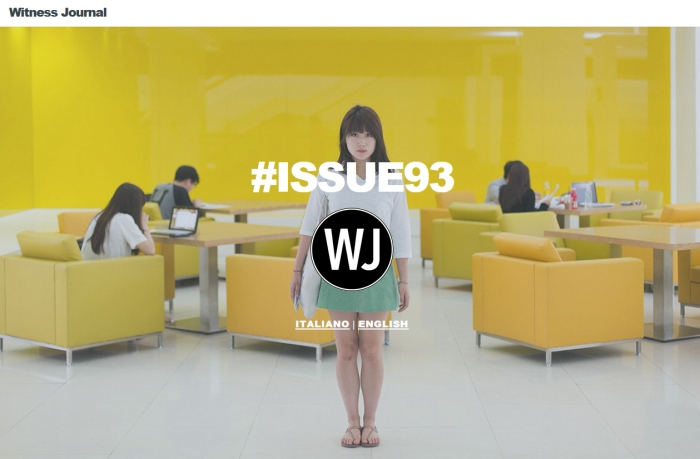 Made in Korea è su Witness Journal #93
