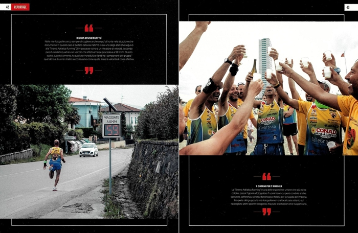 Pubblicazione su 4running Magazine