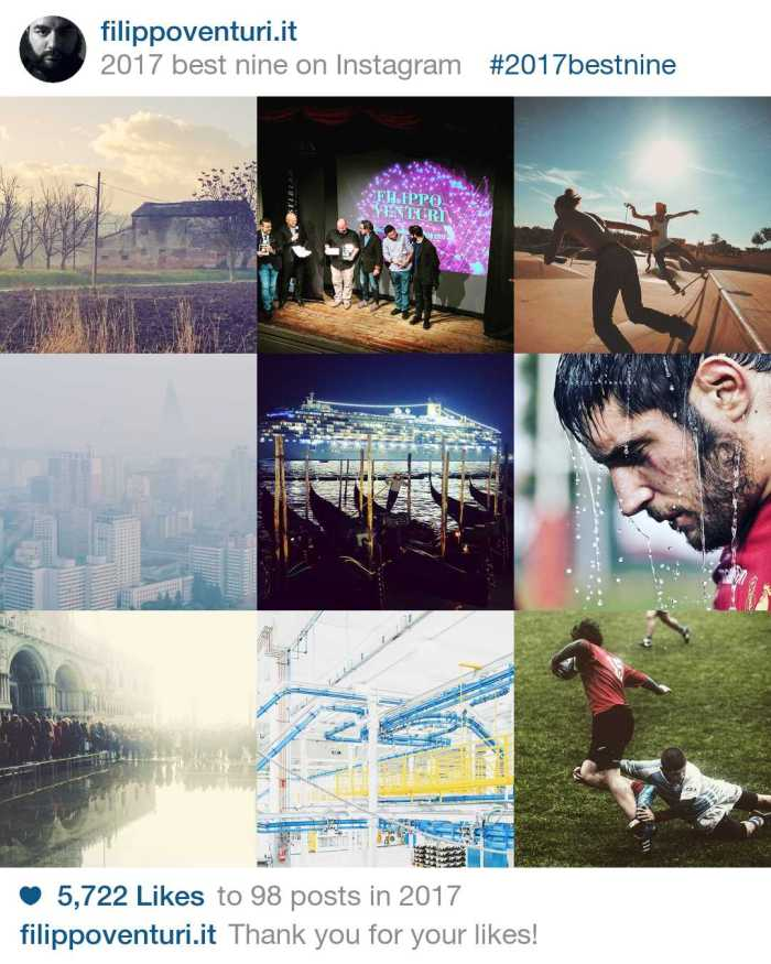 Best 9 on Instagram 2017