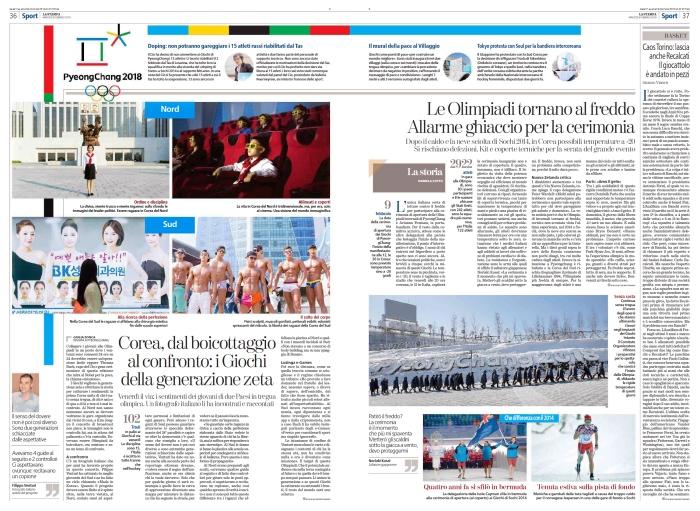 Intervista su La Stampa
