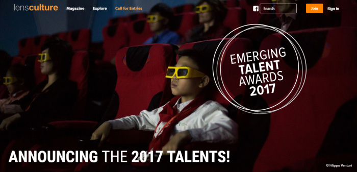 Premiato ai LensCulture Emerging Talent Awards