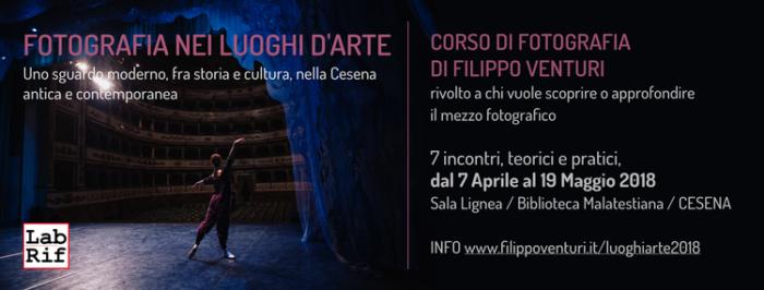 """Workshop """"Fotografia nei Luoghi d'Arte"""" a Cesena"""