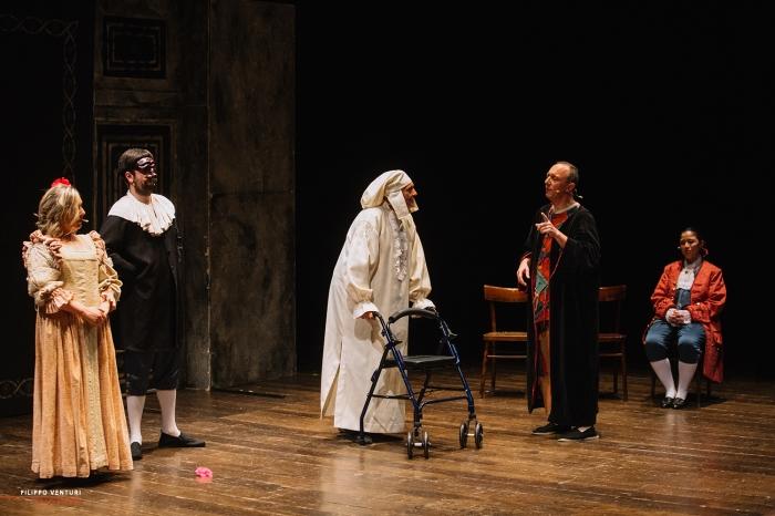 Il medico per forza, di Molière, al Teatro Bonci di Cesena, foto 20