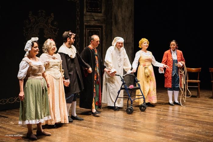 Il medico per forza, di Molière, al Teatro Bonci di Cesena, foto 22