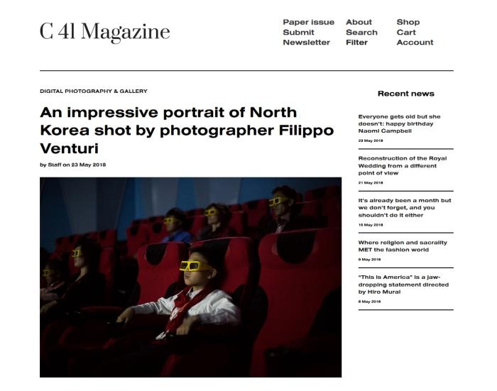 Korean Dream su C41 Magazine