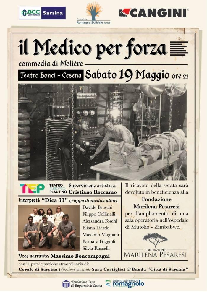 Il medico per forza, di Molière, al Teatro Bonci di Cesena