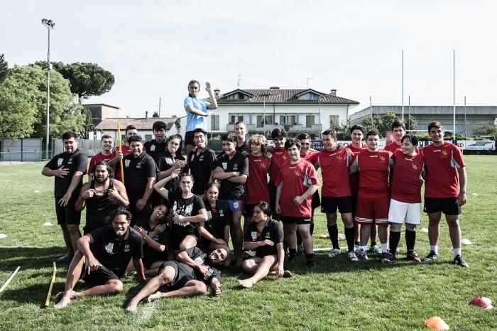 Maori Ball Rugby, 9