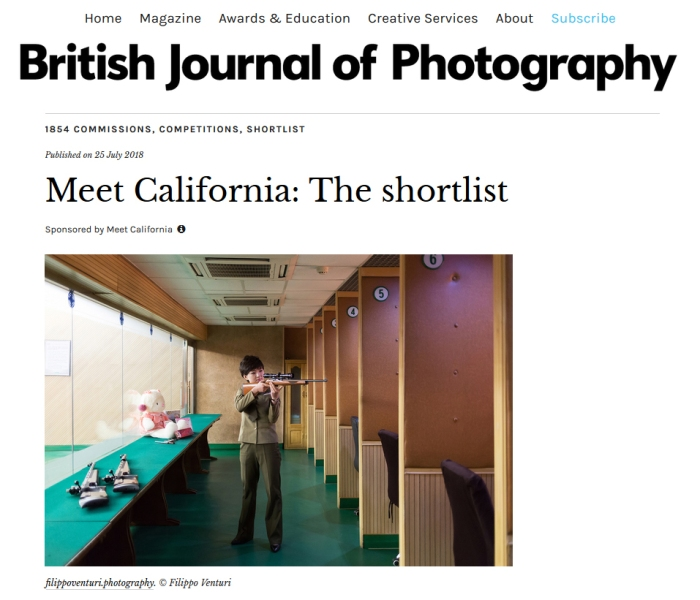 British Journal of Photography - Meet California