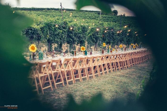 Podere La Berta, Cena in vigna, Brisighella, Foto 1