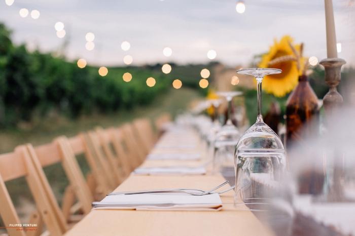 Podere La Berta, Cena in vigna, Brisighella, Foto 2