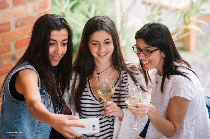 Podere La Berta, Cena in vigna, Brisighella, Foto 10