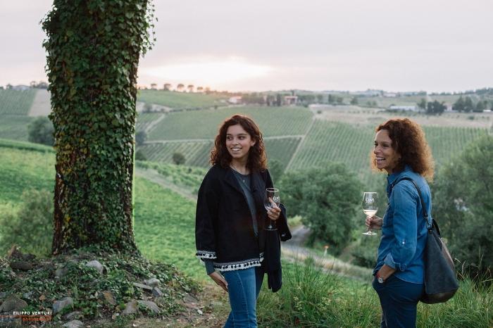 Podere La Berta, Cena in vigna, Brisighella, Foto 12