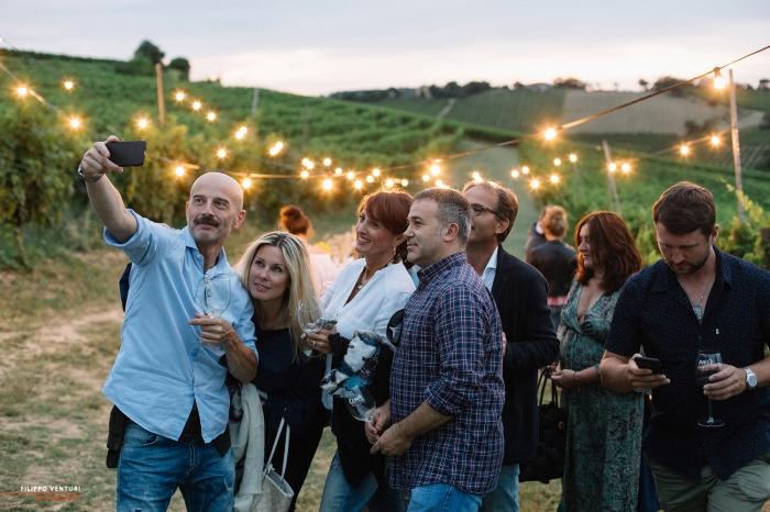 Podere La Berta, Cena in vigna, Brisighella, Foto 14