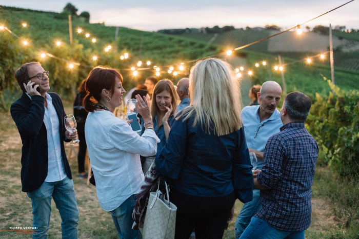 Podere La Berta, Cena in vigna, Brisighella, Foto 15