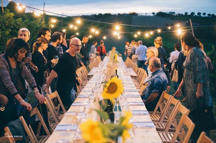 Podere La Berta, Cena in vigna, Brisighella, Foto 16