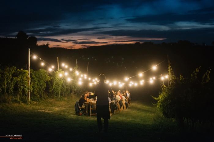Podere La Berta, Cena in vigna, Brisighella, Foto 18