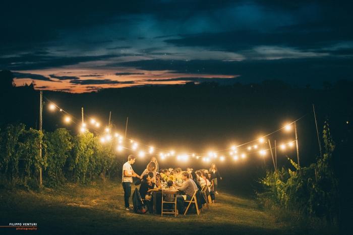 Podere La Berta, Cena in vigna, Brisighella, Foto 19