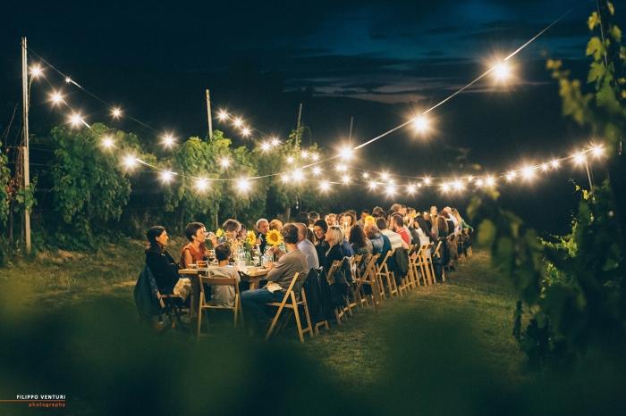 Podere La Berta, Cena in vigna, Brisighella, Foto 22
