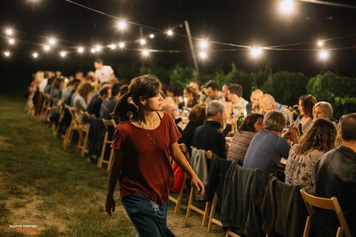 Podere La Berta, Cena in vigna, Brisighella, Foto 24
