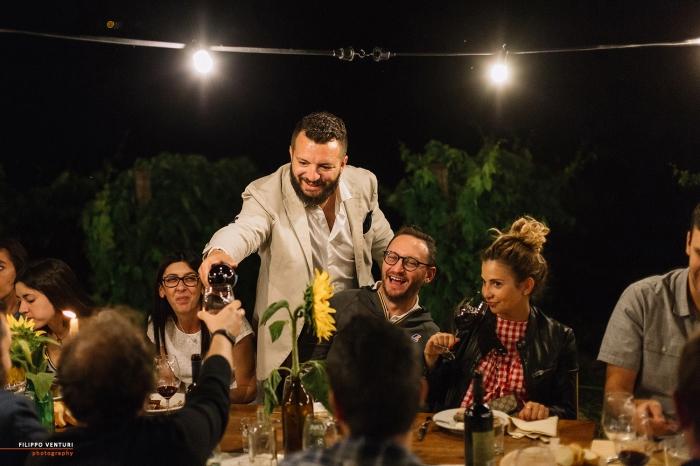 Podere La Berta, Cena in vigna, Brisighella, Foto 25