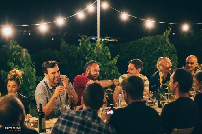 Podere La Berta, Cena in vigna, Brisighella, Foto 26