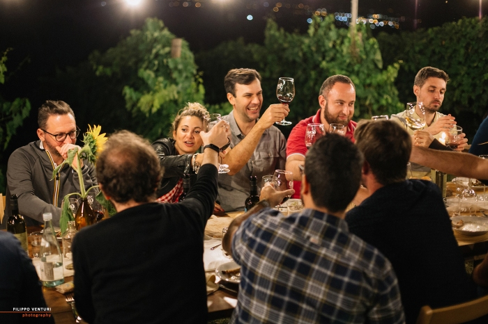 Podere La Berta, Cena in vigna, Brisighella, Foto 27