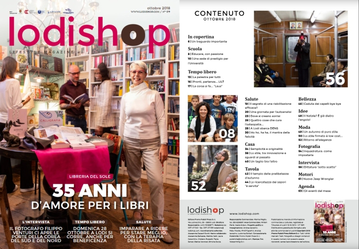 Intervista per LodiShop