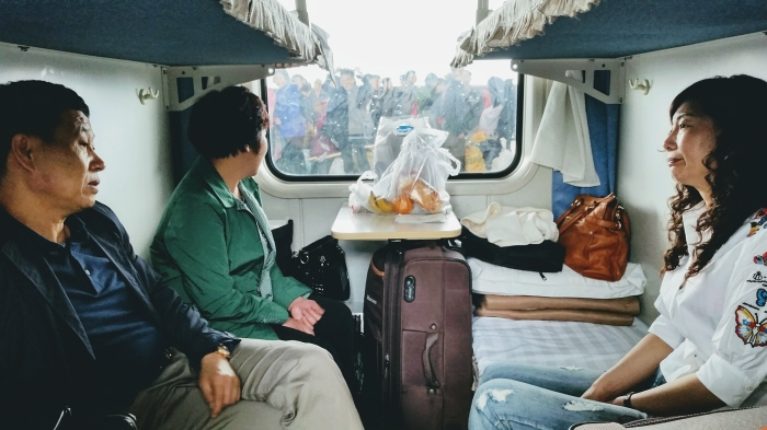 Uncensored, crossing North Korea by train, photo 2