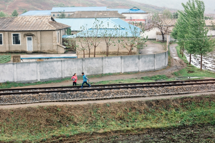 Uncensored, crossing North Korea by train, photo 5