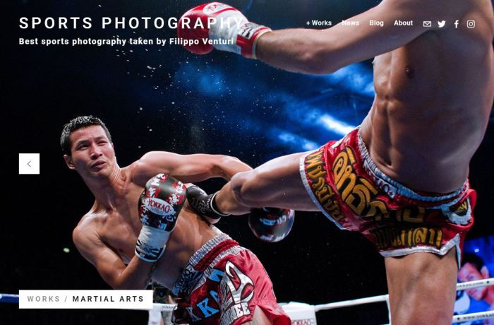 New website about my sports photography works