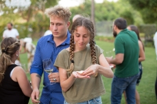 Podere La Berta, Cena in Vigna