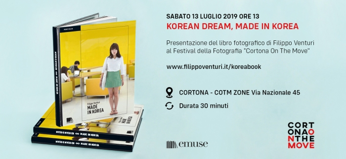 Presentazione del mio libro Korean dream, made in Korea