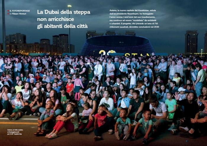Pubblicazione sul magazine Il Reportage