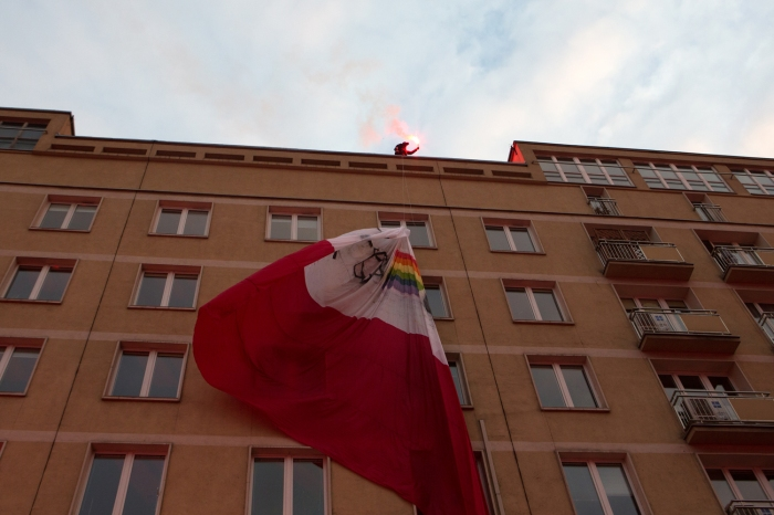 March of Independence Day in Warsaw