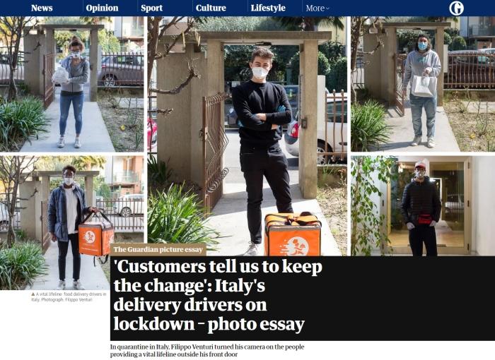 Pubblicazione su The Guardian