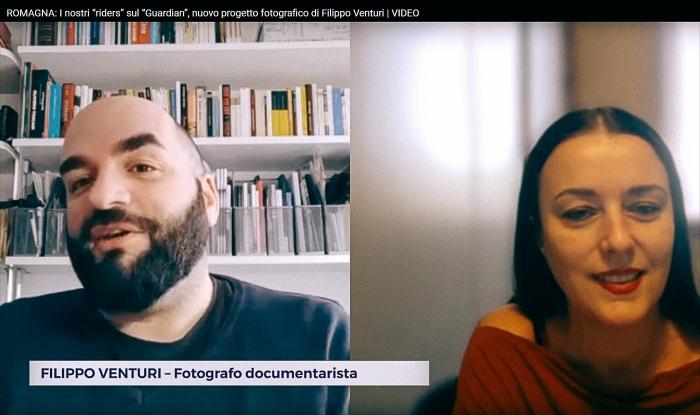 Intervista per TeleRomagna