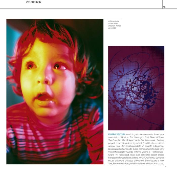 Il Fotografo, numero da collezione sul Covid-19